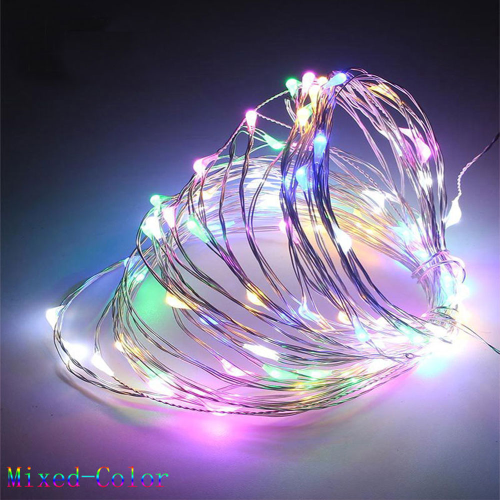 B2A4 10M Led String Fairy Lights Indoor//Outdoor Garden  Christmas Party Wedding