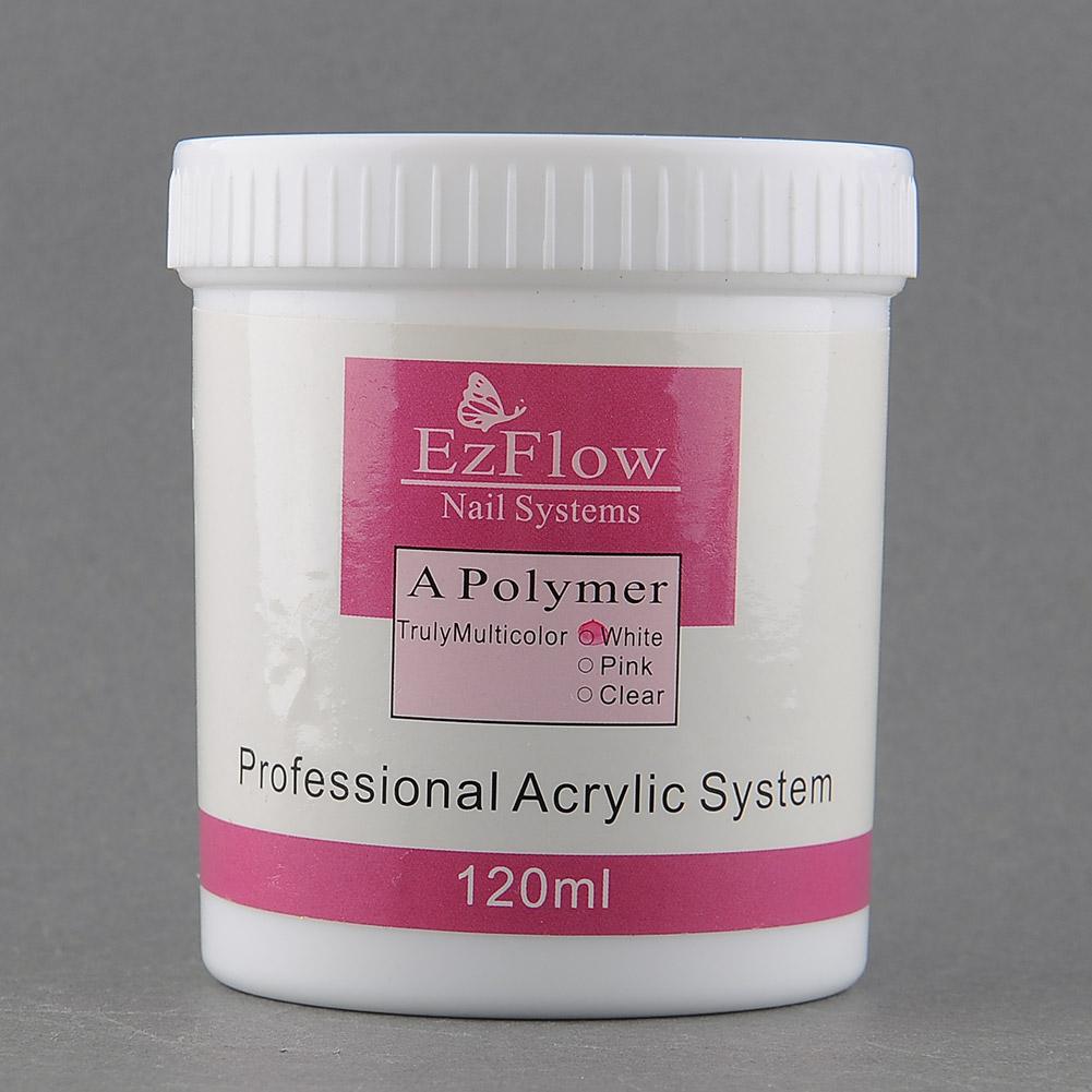120ml Acrylic Crystal Nail Powder Nail Art Builder Polish Polymer Manicure Tips