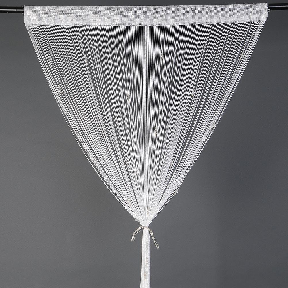 beaded string curtain door window divider fly screen