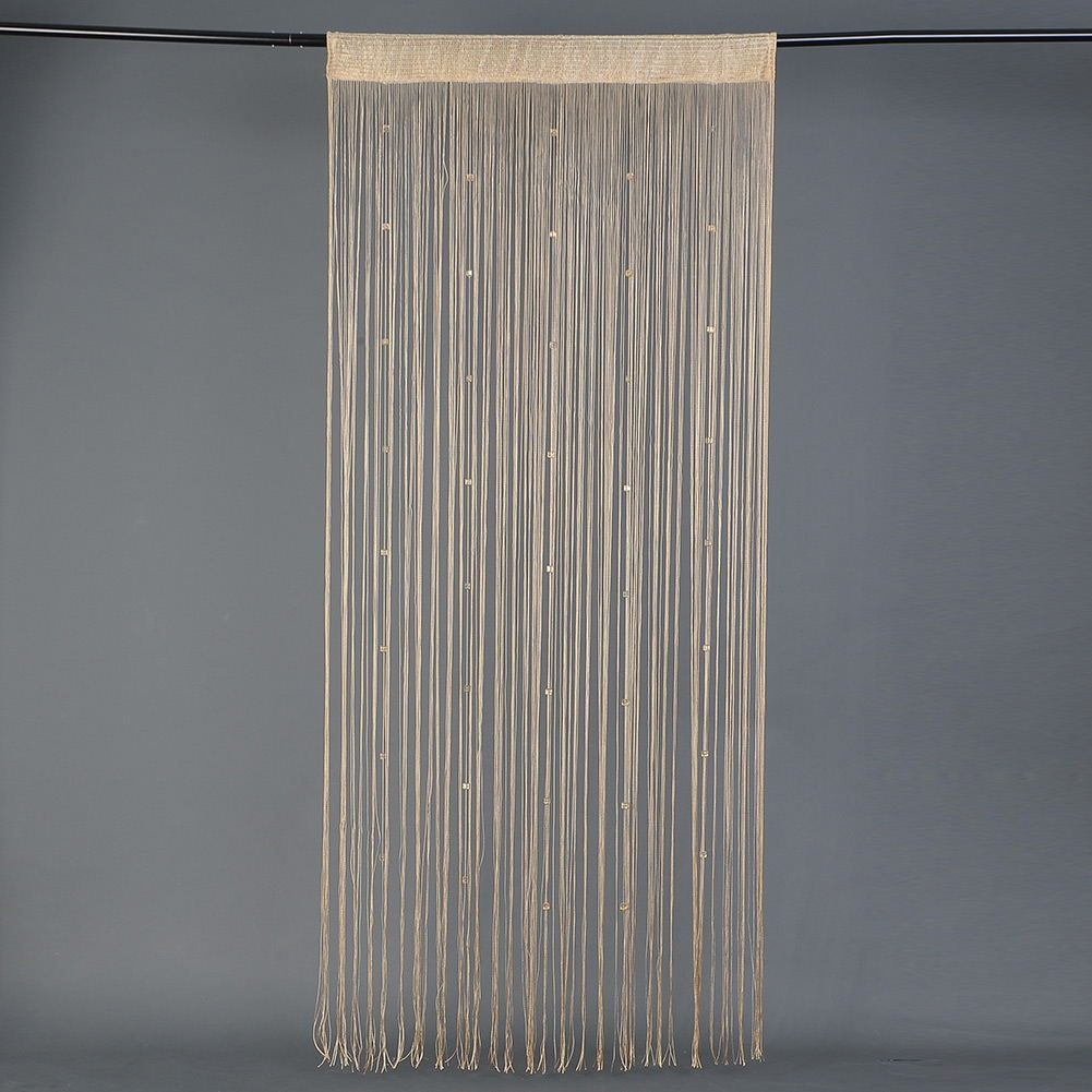 Beaded string curtain door divider tassel screen panel for Window dividers