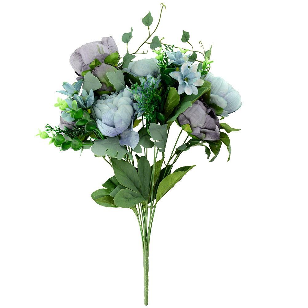 Artificial Fake Peony Silk Flowers Bridal Hydrangea Wedding Party Garden Decor