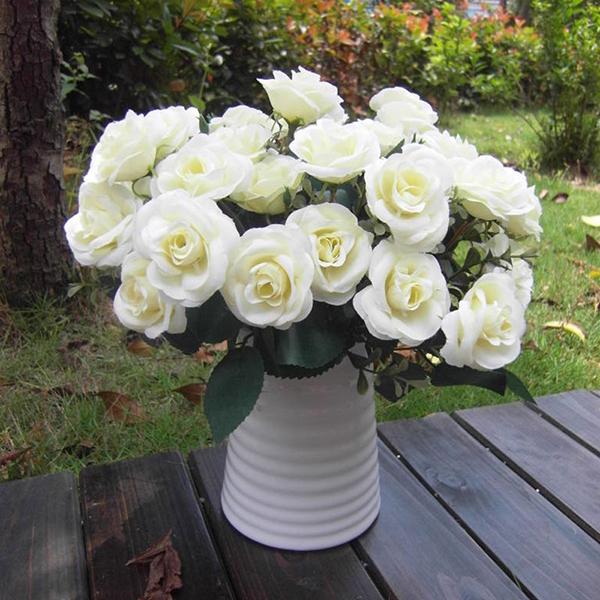 Artificial False Rose Silk Flowers Floral Home Party Garden Decor DIY NEW