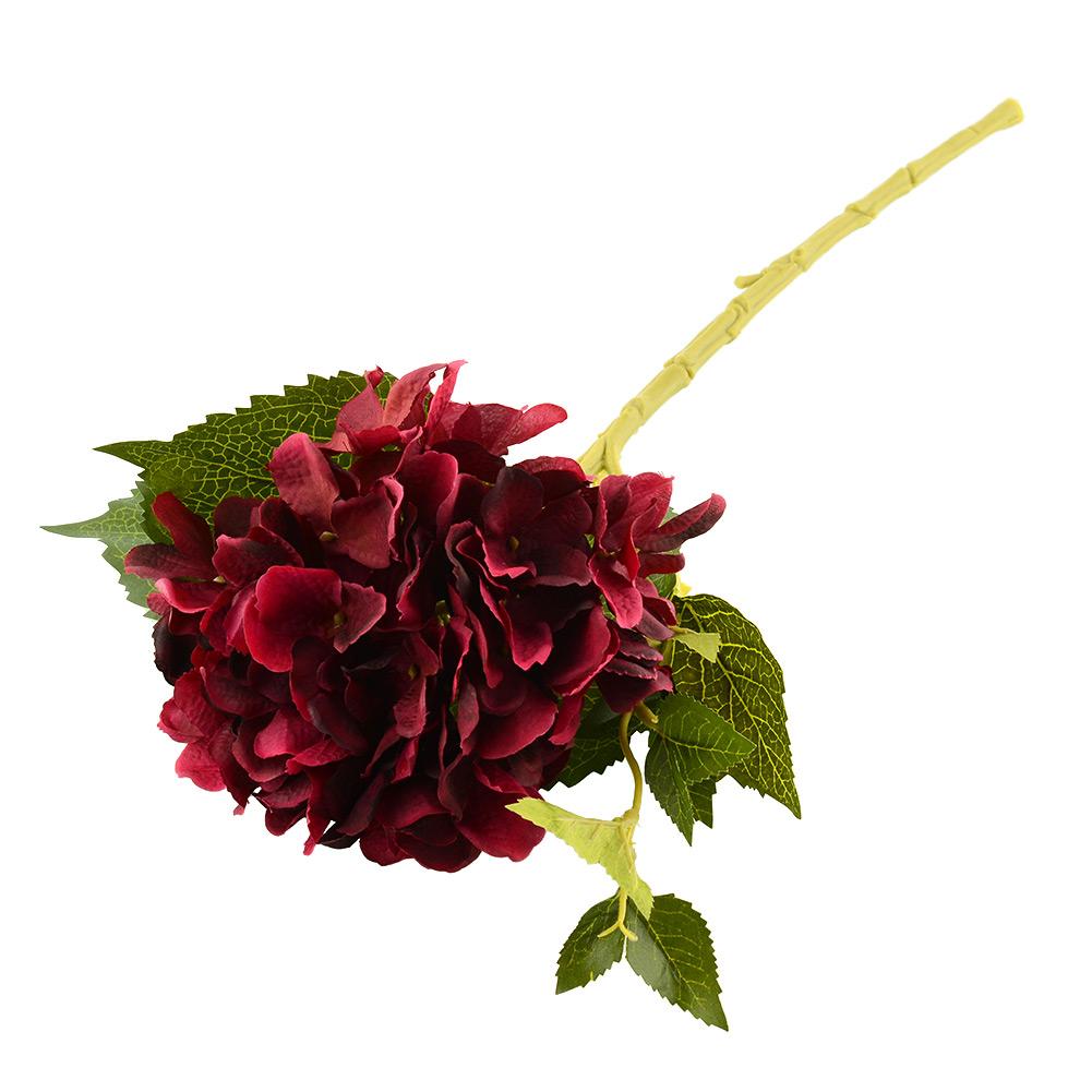 Rose autumn artificial silk peony flower arrangement floral hydrangea decor ebay for Arrangement floral artificiel