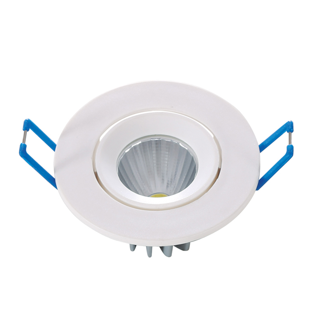 4W COB LED Recessed Downlight Warm Pure White Ceiling Spot Down Light Soft Lamp