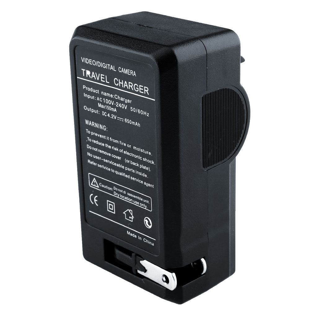 New-Universal-AC-Travel-Charger-18650-3-7v-Rechargeable-Battery-Plug-SS