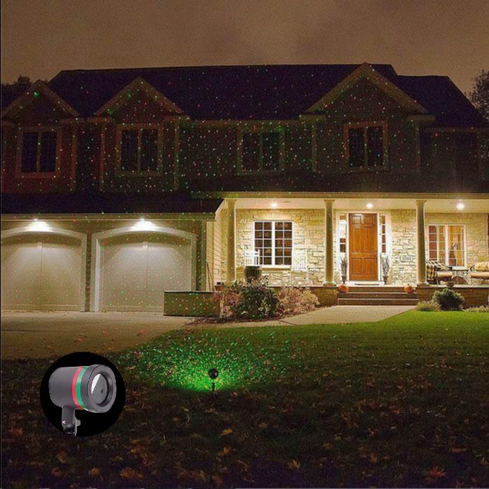 Laser Star Christmas Garden Light Sky Shower Indoor Outdoor Decoration Deko!