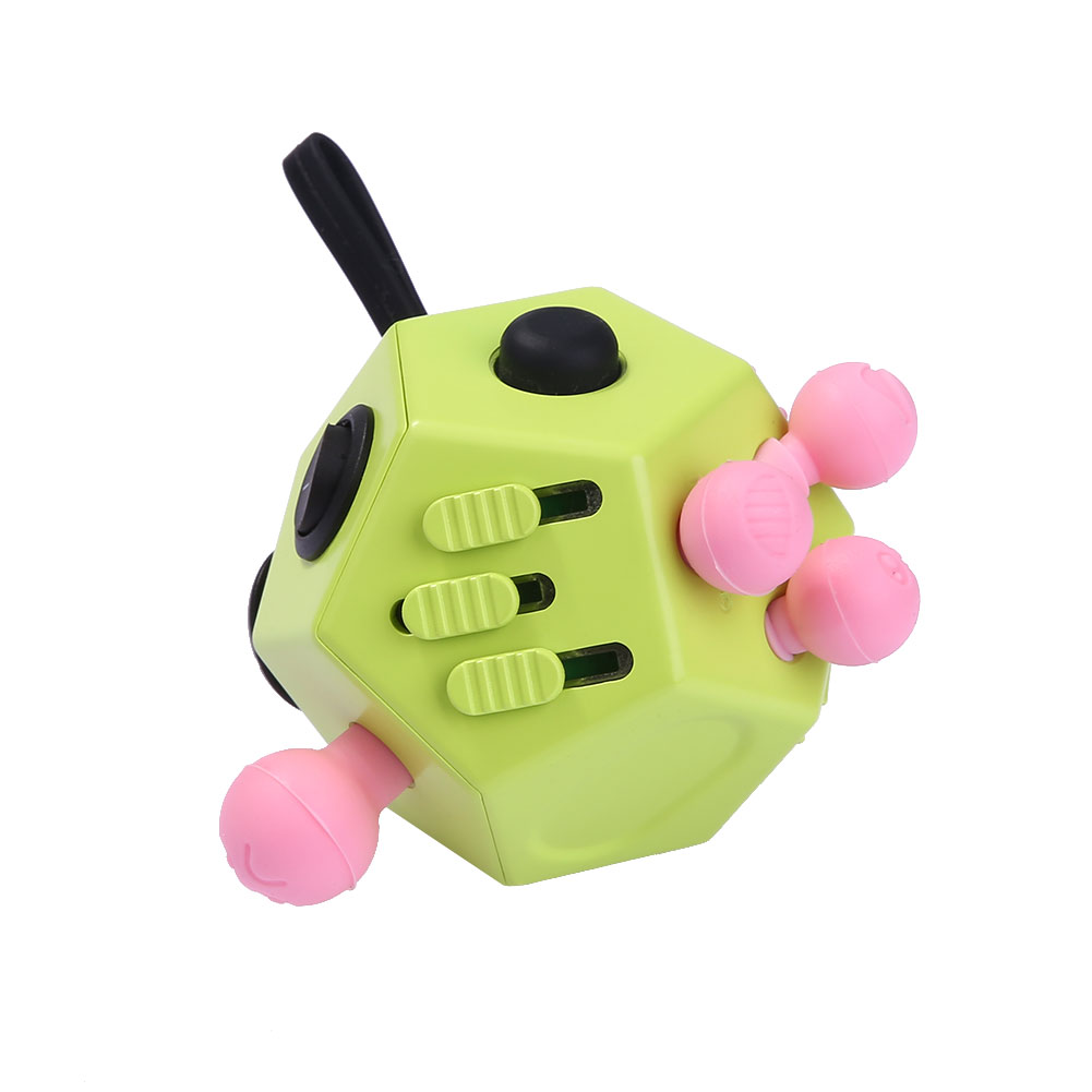 Toys For Adults For Stress : Fidget cube side toy anxiety stress attention relief