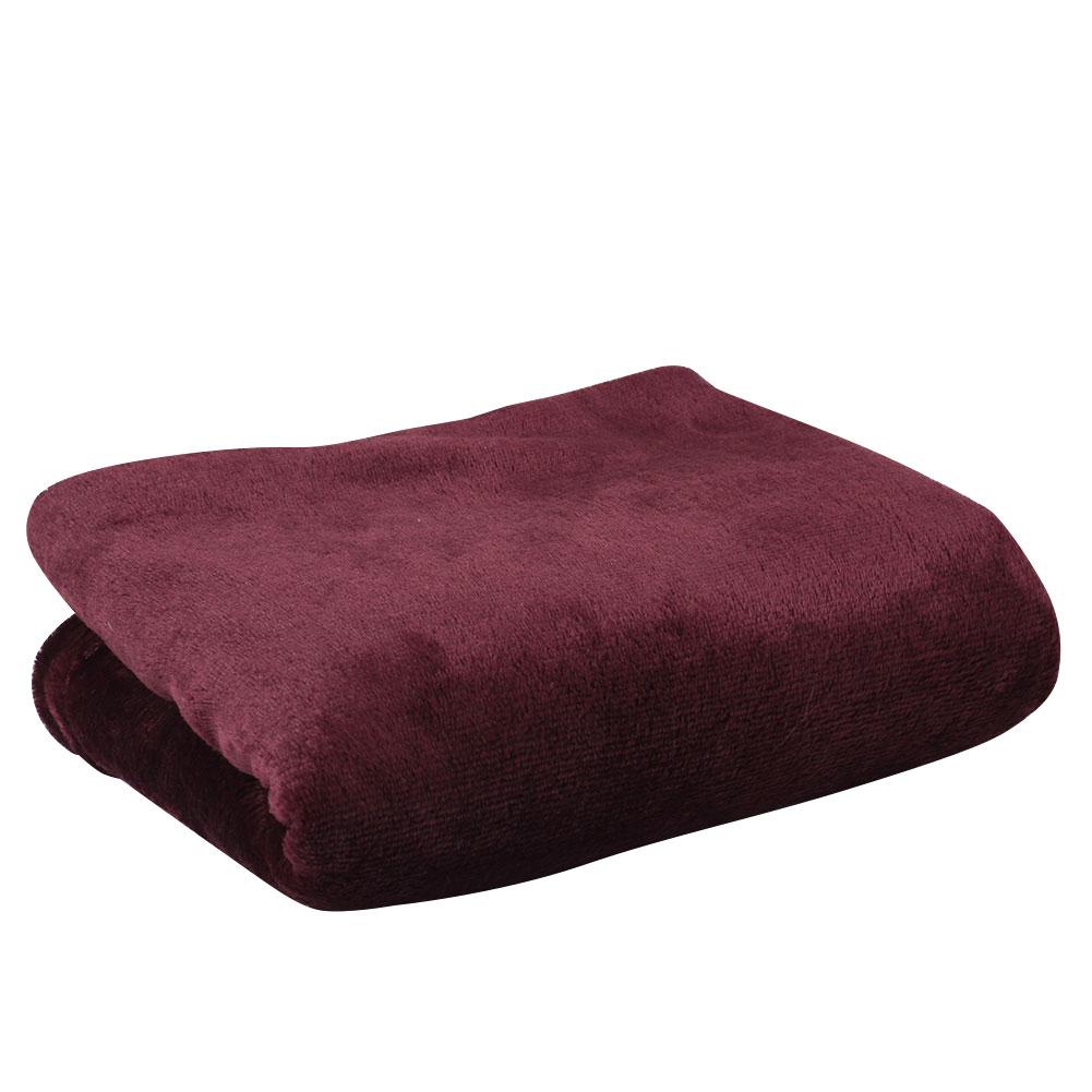 Super Soft Coral Fleece Throw Luxury Warm Comfy Home Sofa
