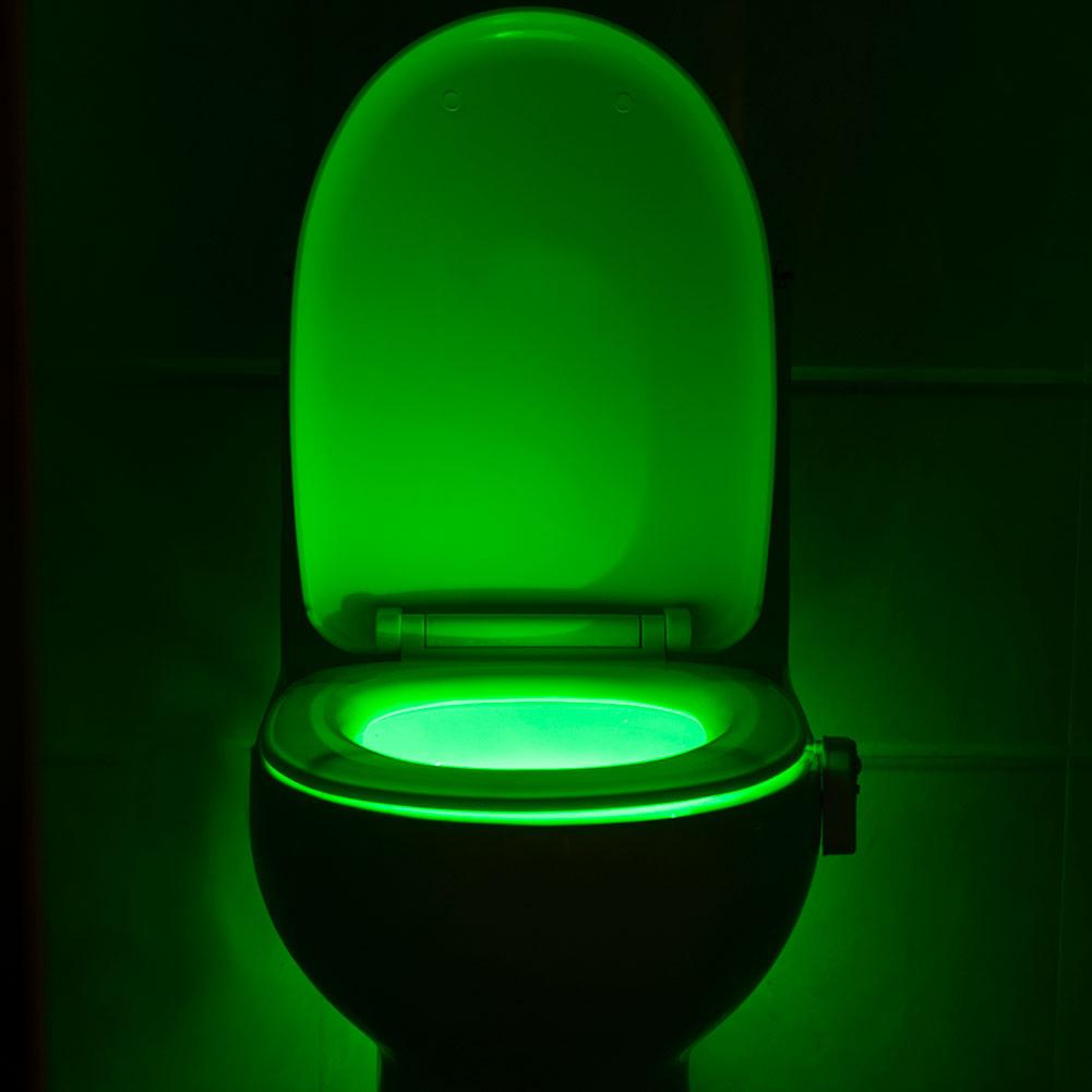 Night Light Fixtures: Toilet Night Light -Light Bowl