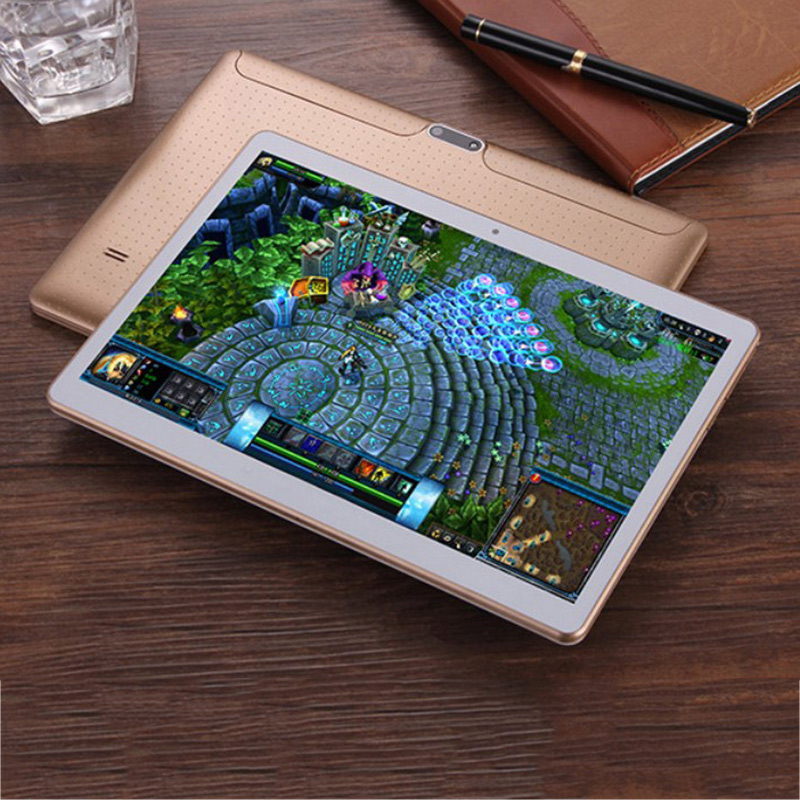 HOT! Octa-Core 10'' 4G+64G Android 5.1 Dual Sim Wifi Phone Pad Tablet PC Phablet