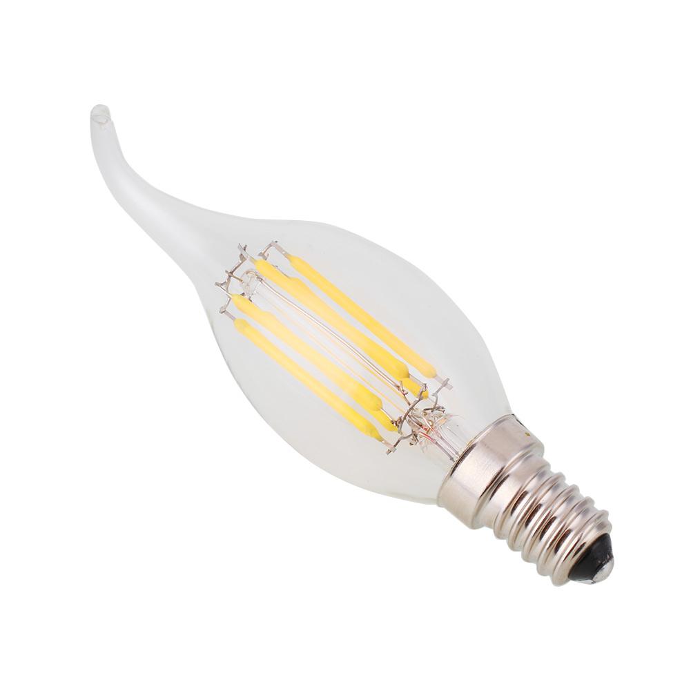 Dimmable E12 Light Bulb LED Retro Edison COB Filament ...