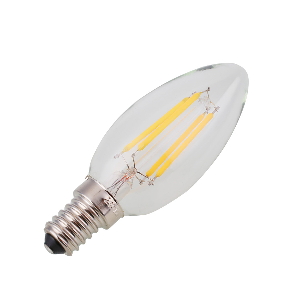 dimmable e12 light bulb led retro edison cob filament. Black Bedroom Furniture Sets. Home Design Ideas