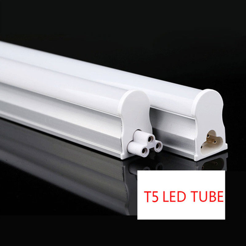 t5 led tube light integrated fluorescent milky cover 110v 220v 30cm with switch ebay. Black Bedroom Furniture Sets. Home Design Ideas
