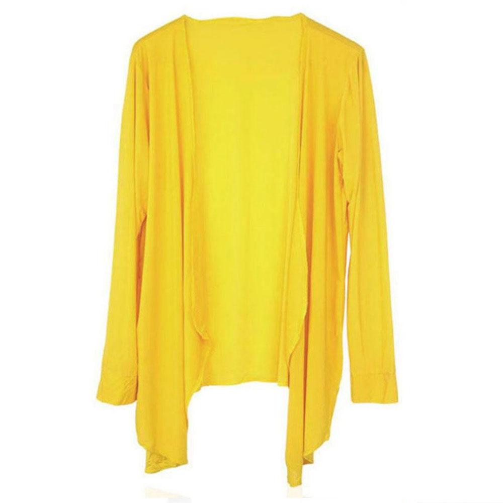 Womens Long Cardigan Sun Protection Sunscreen Blouse Thin Coat ...