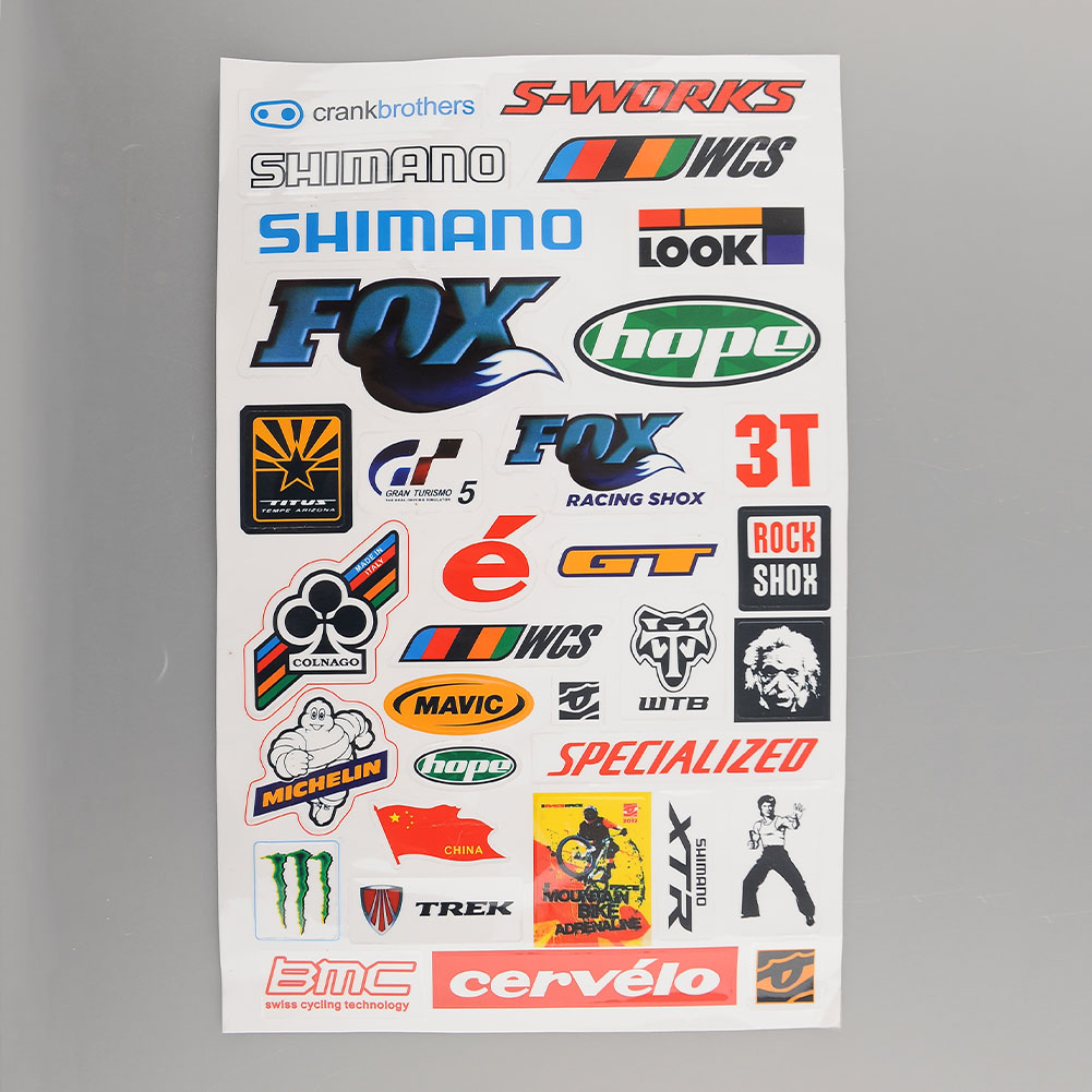 Cool sticker design for bike - Perfect For Collection Scrapbooking Decoration Design Nice Gifts For Friends For Convenient To Packing The Stickers May Be Cut Out