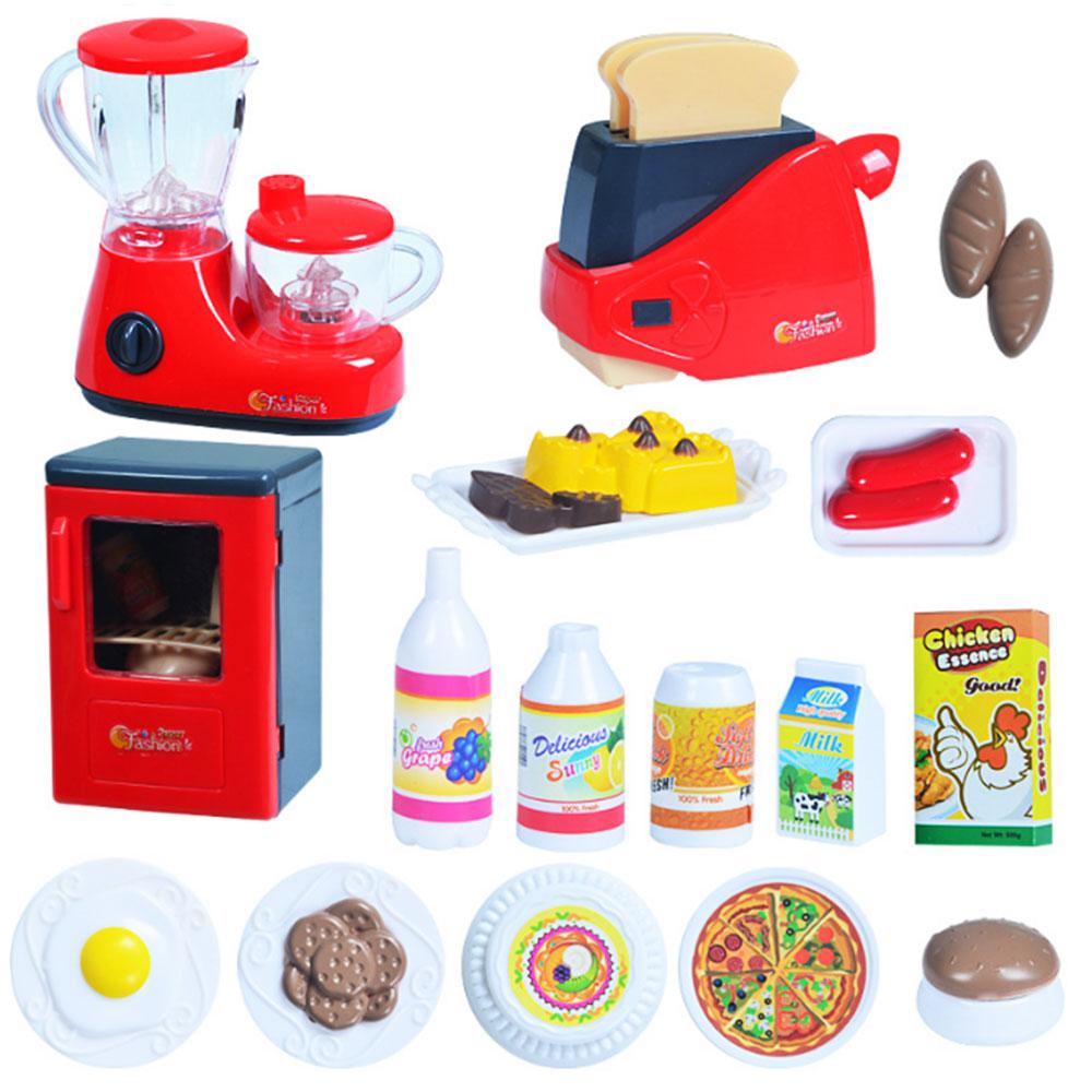 Children kitchen toy set hose play roleplay pretend for Matching kitchen sets