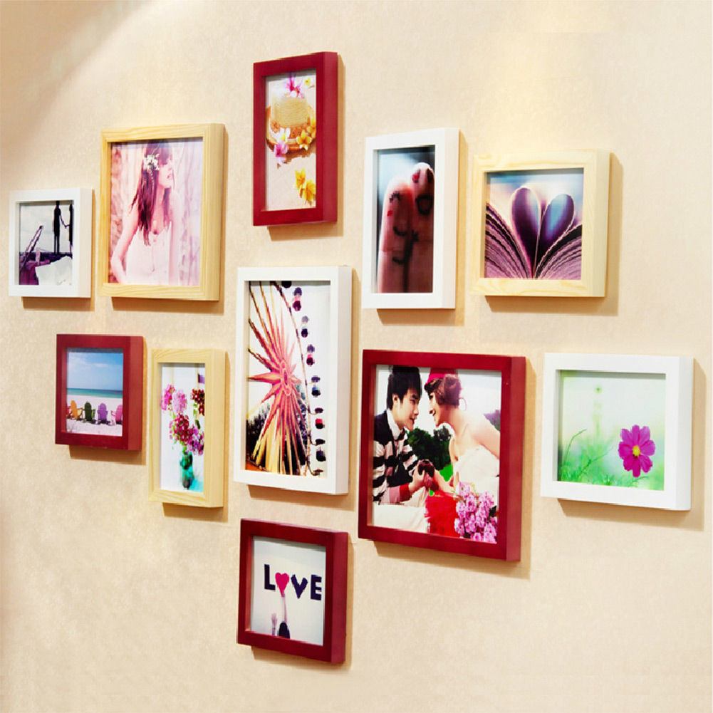 Wall photo frames on shoppinder for Unique wall frames