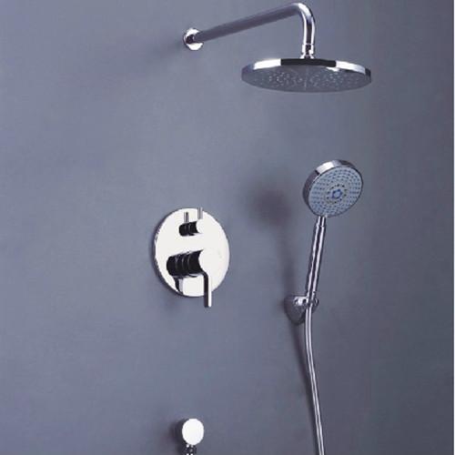 affordable regendusche set regendusche unterputz komplett set regenbrause dusch with regendusche grohe - Regenwalddusche Unterputz