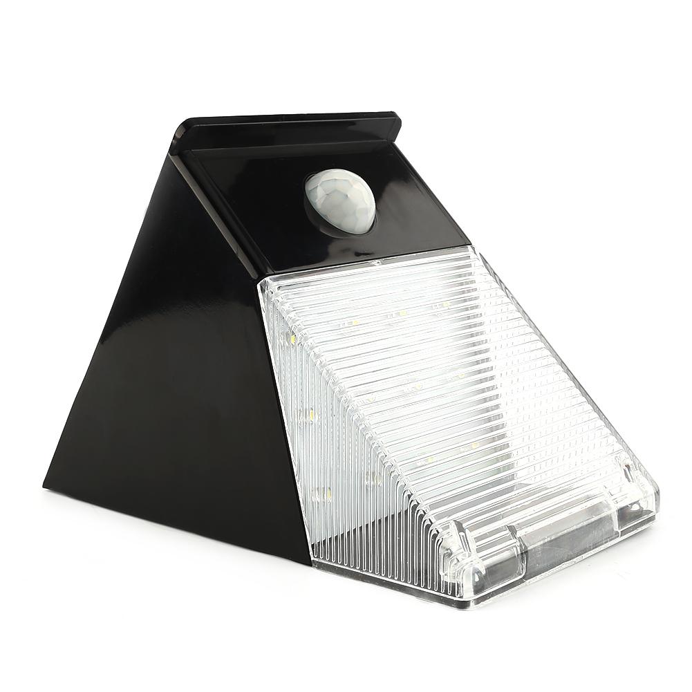 aussen solarlampe mit bewegungsmelder led solarleuchte gartenlampe wandlampe dhl ebay. Black Bedroom Furniture Sets. Home Design Ideas
