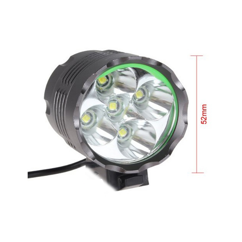 1 7 cree t6 leds fahrradlampe fahrradbeleuchtung. Black Bedroom Furniture Sets. Home Design Ideas