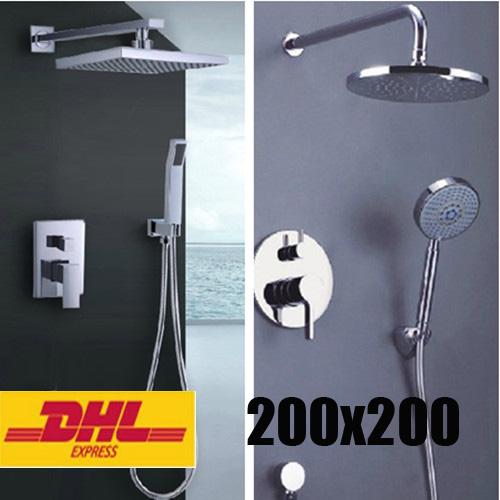 design led duschsystem brause set regendusche duscharmatur regenbrause - Regendusche Set