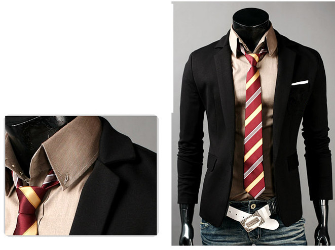 herren anzug business casual blazer mantel jacke sakko. Black Bedroom Furniture Sets. Home Design Ideas