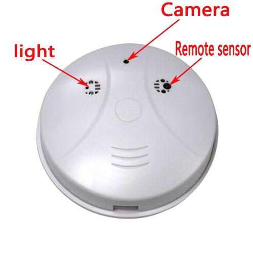 spionkamera rauchmelder spy cam bewegungsmelder berwachungskamera mit ir fb ebay. Black Bedroom Furniture Sets. Home Design Ideas