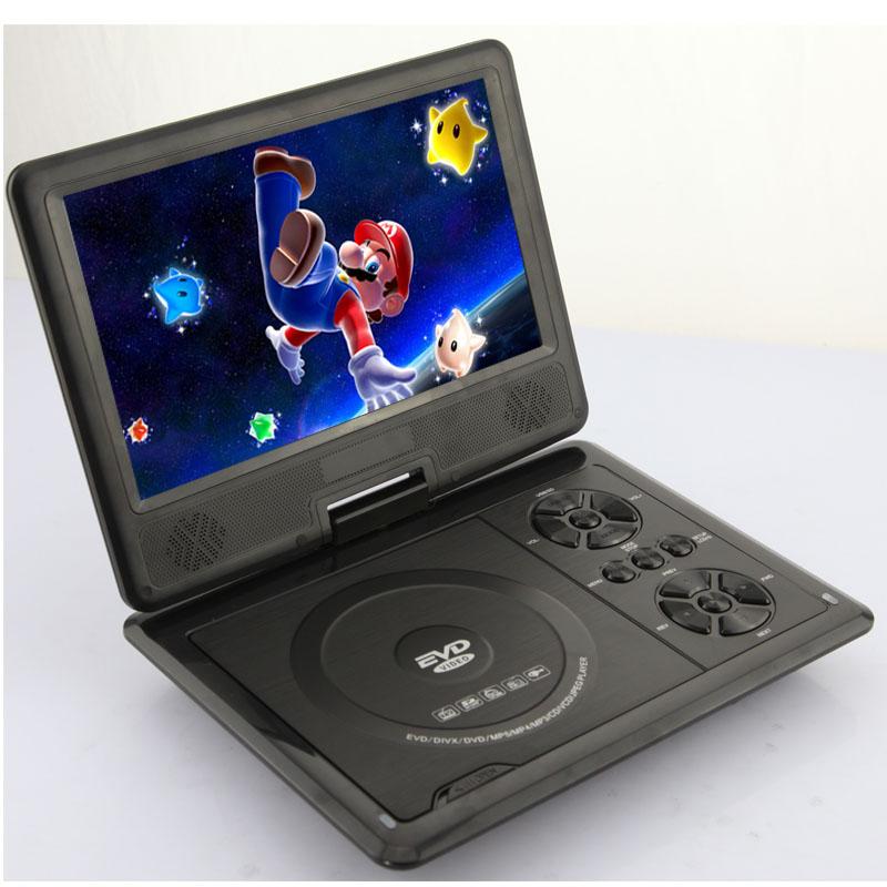 neu 9 5 zoll tragbarer dvd player mit game spiel. Black Bedroom Furniture Sets. Home Design Ideas
