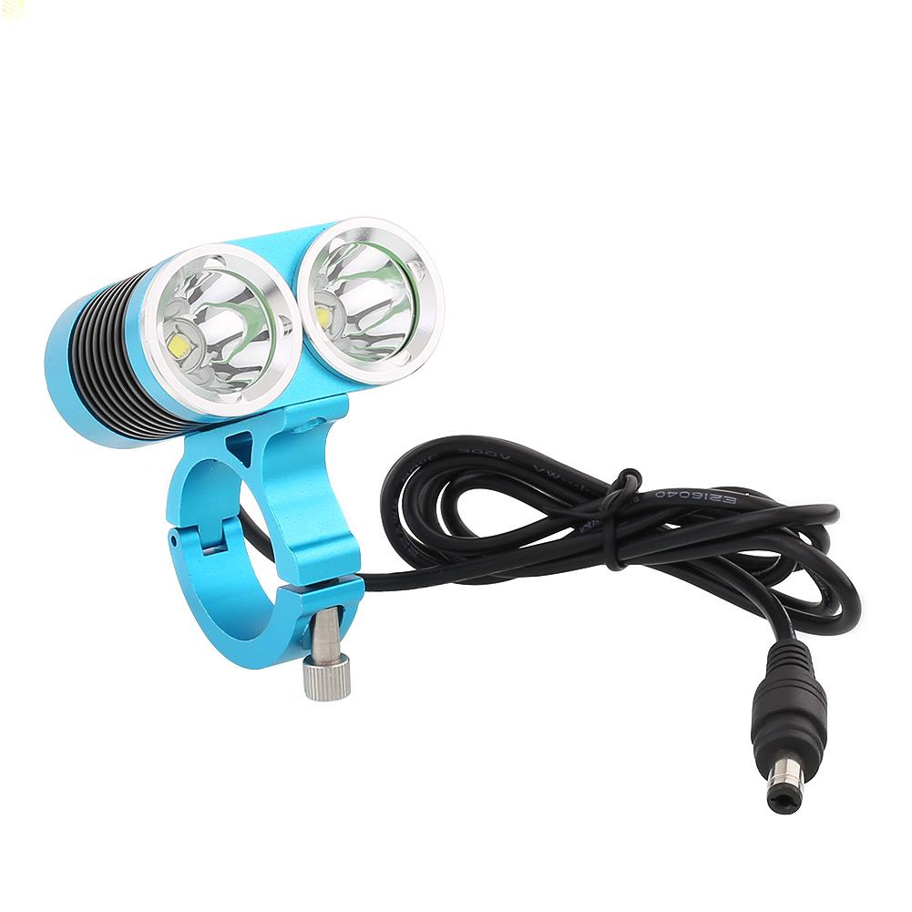 1 7 cree t6 leds fahrradlampe fahrradbeleuchtung scheinwerfer 1800lm 8000lm akku. Black Bedroom Furniture Sets. Home Design Ideas