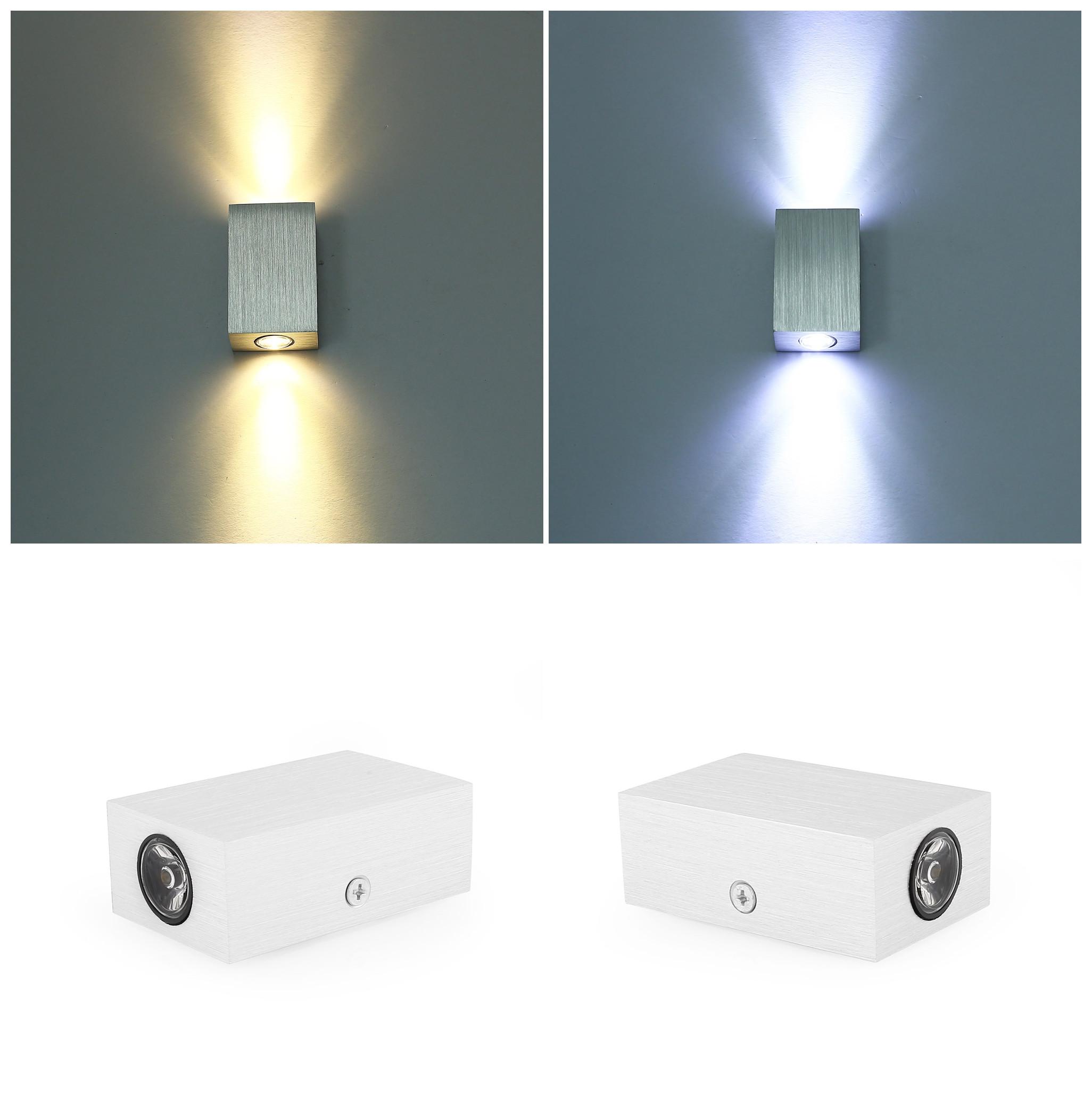 2w lampes murale led lampe applique ext rieur effet de for Lumiere exterieur sur pied