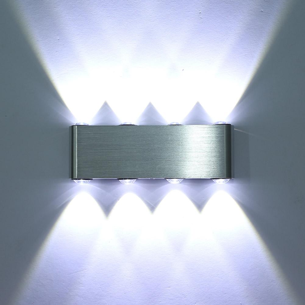 led wandlampe. Black Bedroom Furniture Sets. Home Design Ideas