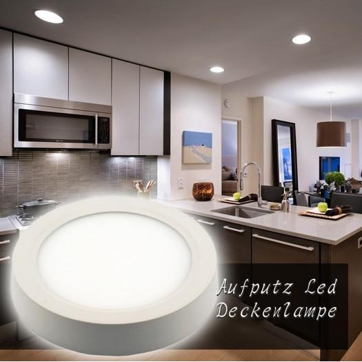 12W 17cm Led Deckenlampe Küchen Flur Decken Leuchte ...