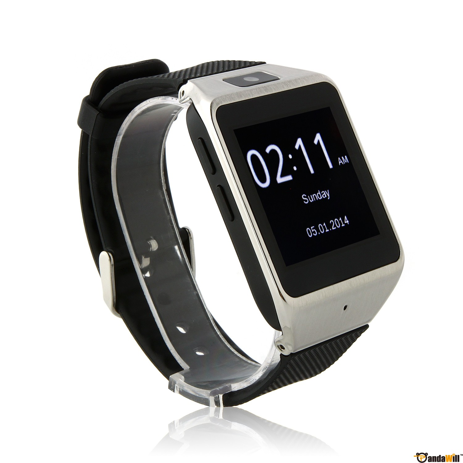 atongm w007 f r samsung s5 s4 android smartwatch camera. Black Bedroom Furniture Sets. Home Design Ideas