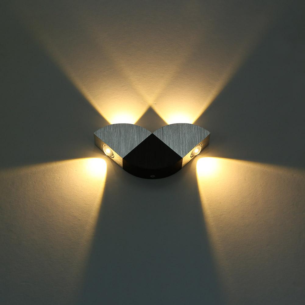 profi 4w led wandlampe wandleuchte modern flurlampe. Black Bedroom Furniture Sets. Home Design Ideas