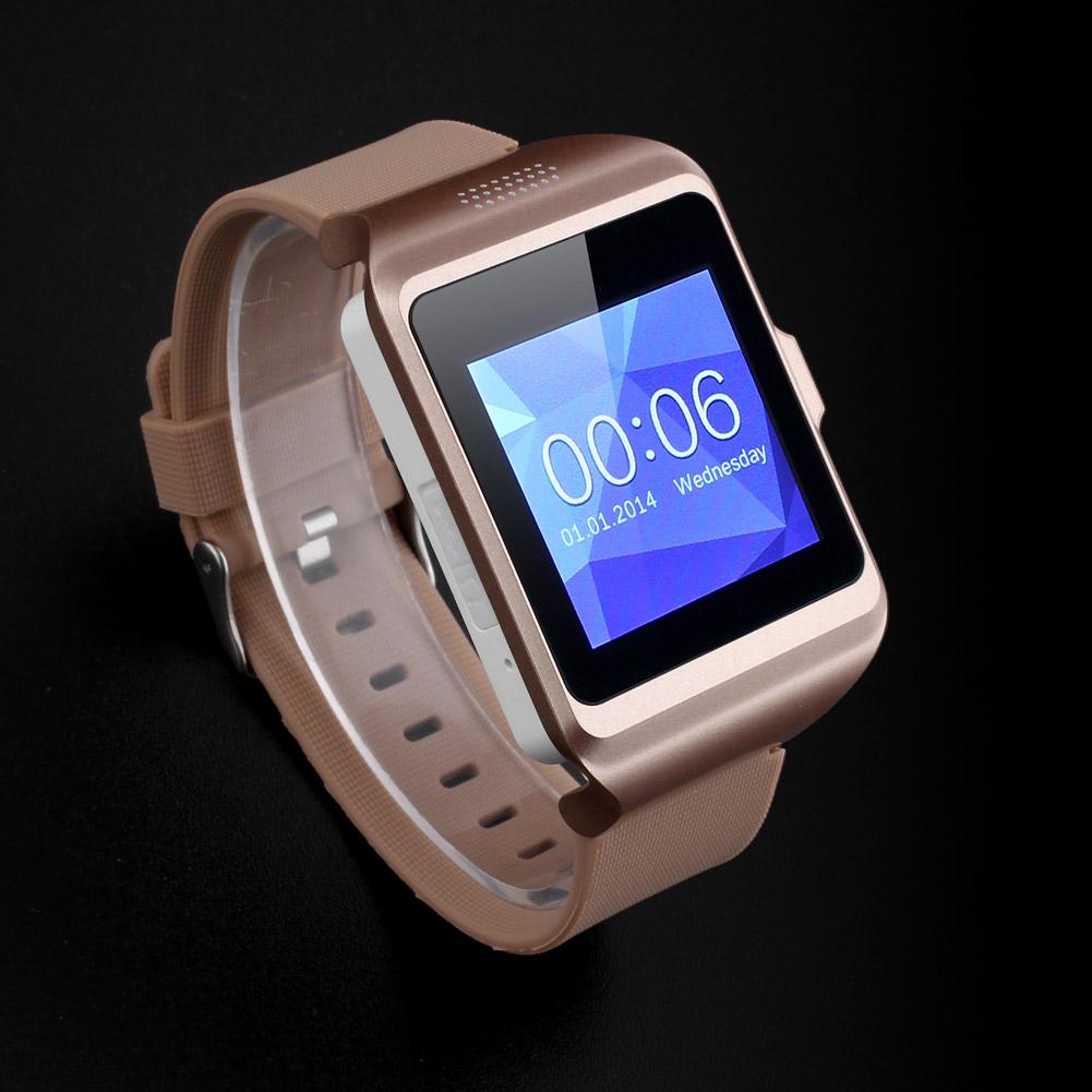 upro p3 bluetooth3 0 smartwatch handy uhr kamera sim karte armbanduhr watch gold ebay. Black Bedroom Furniture Sets. Home Design Ideas