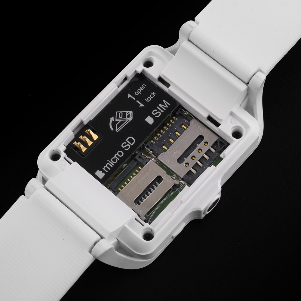 upro p3 bluetooth3 0 smartwatch handyuhr kamera sim karte mini smartphone gold ebay. Black Bedroom Furniture Sets. Home Design Ideas