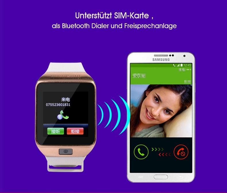 atongm w008 bluetooth smartwatch armbanduhr sim karte for android samsung sport ebay. Black Bedroom Furniture Sets. Home Design Ideas