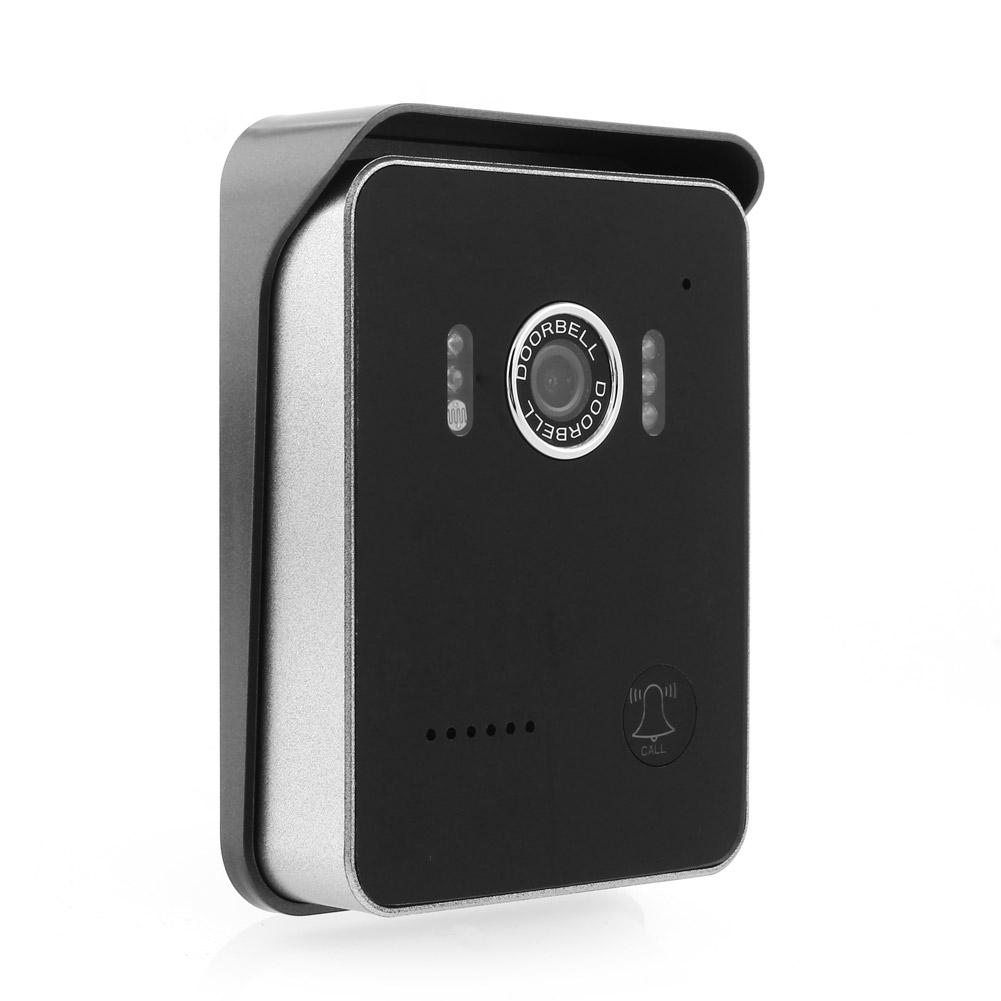 wifi t rklingel t rspion smart phone android ios wlan gegensprechanlage ir led ebay. Black Bedroom Furniture Sets. Home Design Ideas