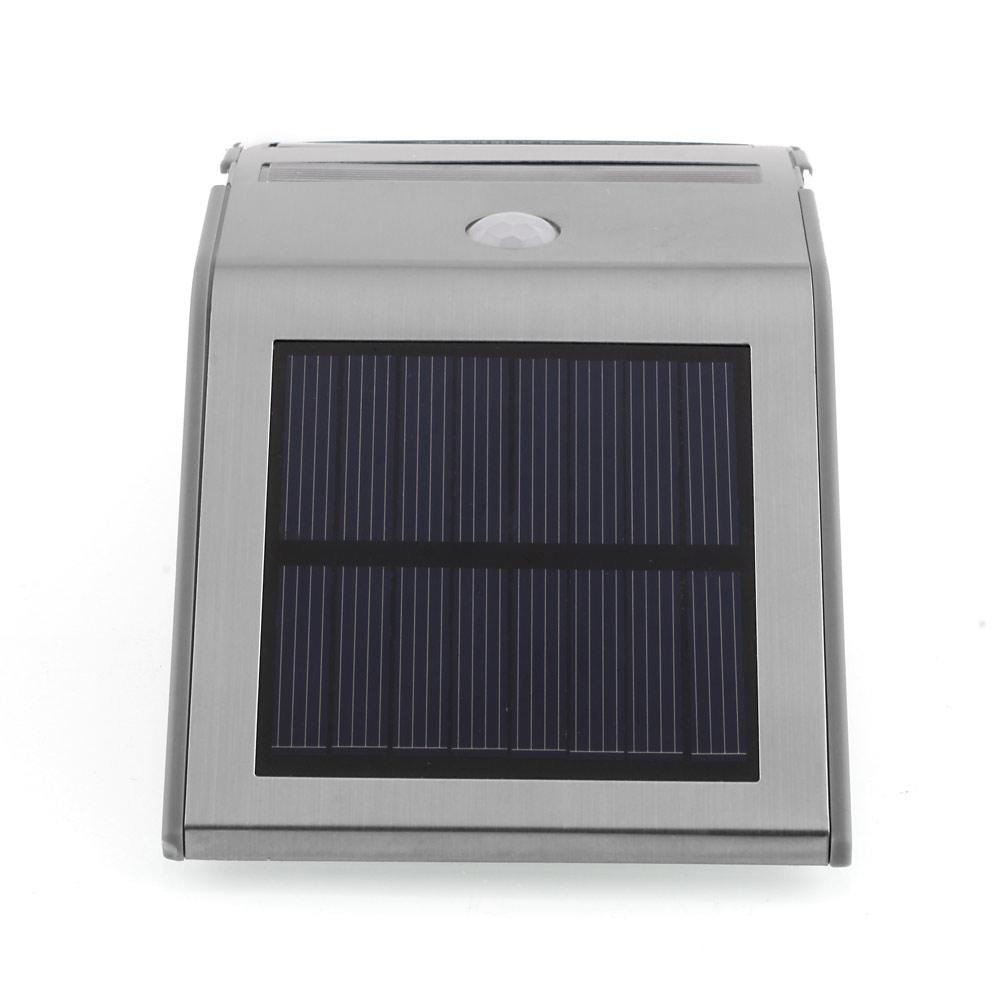 solarlampe solar led au enleuchte wandlampe solarleuchte mit pir bewegungsmelder ebay. Black Bedroom Furniture Sets. Home Design Ideas