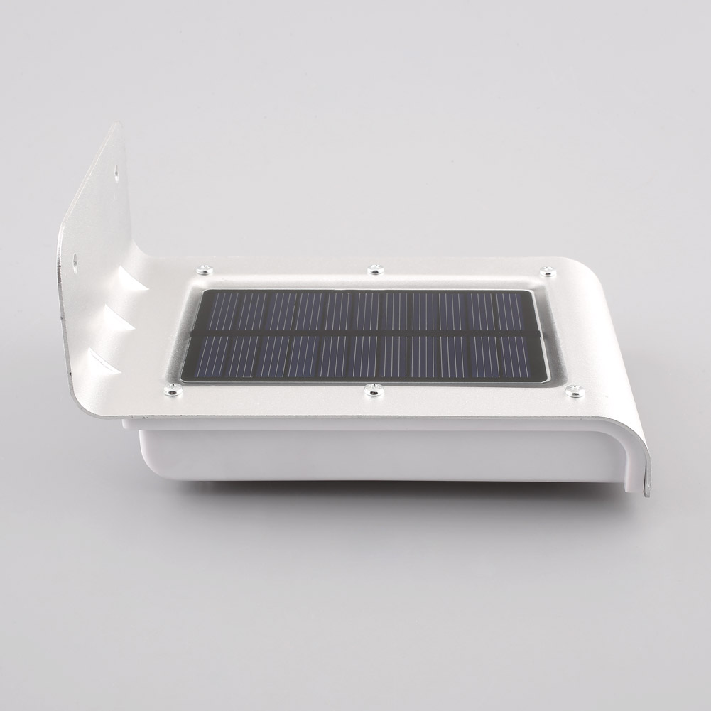 16 led solar gartenlampe wandlampe gartenleuchte. Black Bedroom Furniture Sets. Home Design Ideas