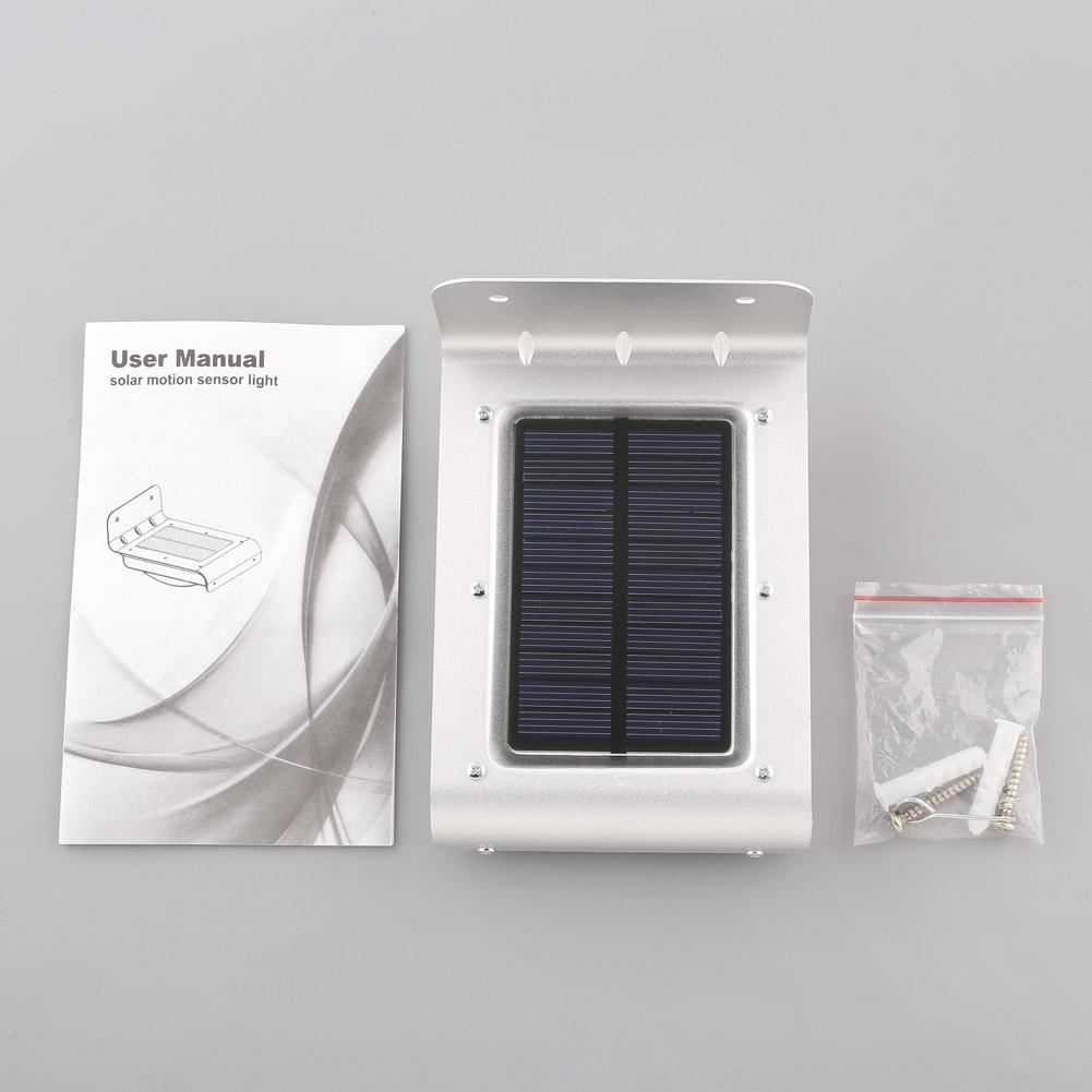 solarlampe mit bewegungsmelder led au enlampe leuchte. Black Bedroom Furniture Sets. Home Design Ideas
