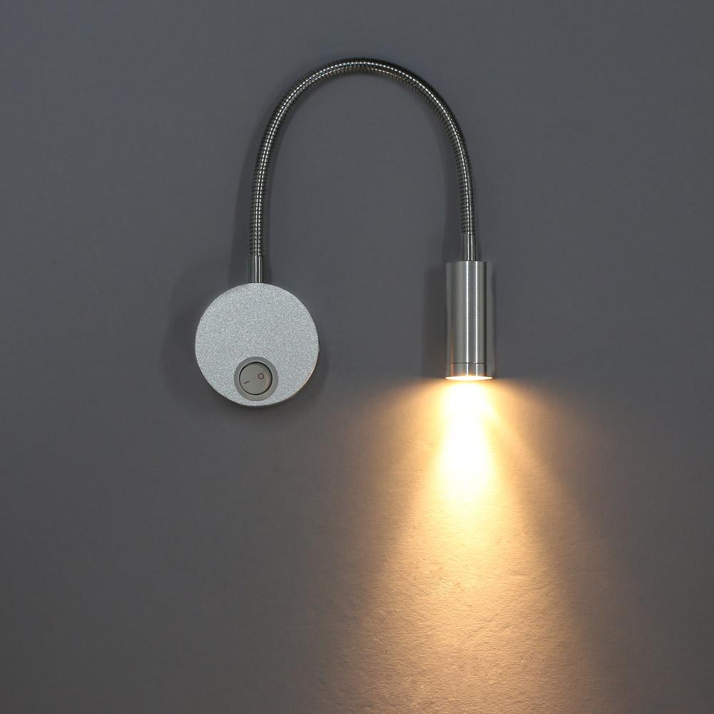 3w wandlampe wandstrahler leselampe effektlampe mit. Black Bedroom Furniture Sets. Home Design Ideas