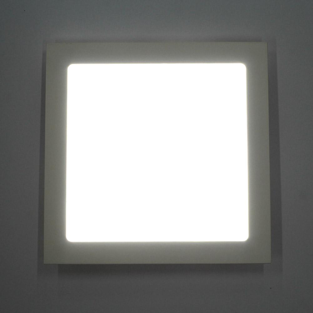 ultraslim 12w 18w 24w led panel einbaustrahler deckenleuchte einbau lampe trafo ebay. Black Bedroom Furniture Sets. Home Design Ideas