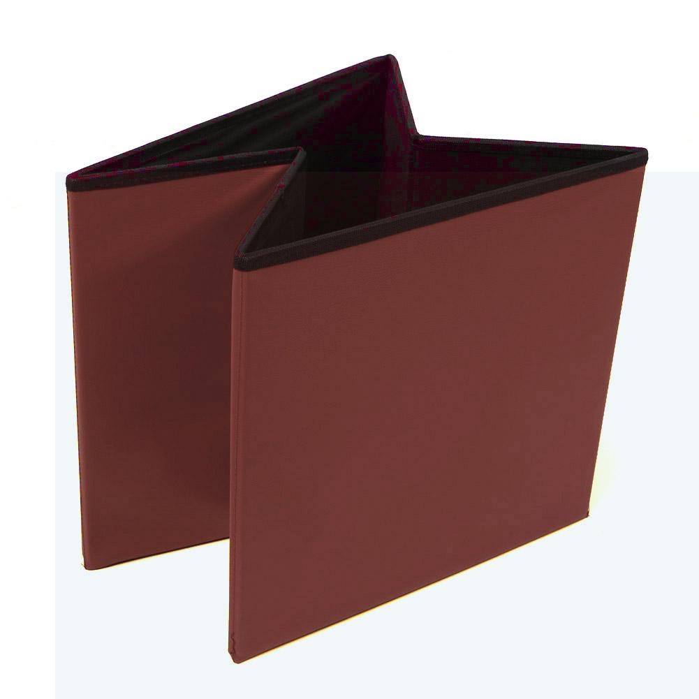 sitzw rfel sitzhocker sitzbank sitztruhe truhe sitz pu aufbewahrungsbox faltbar ebay. Black Bedroom Furniture Sets. Home Design Ideas
