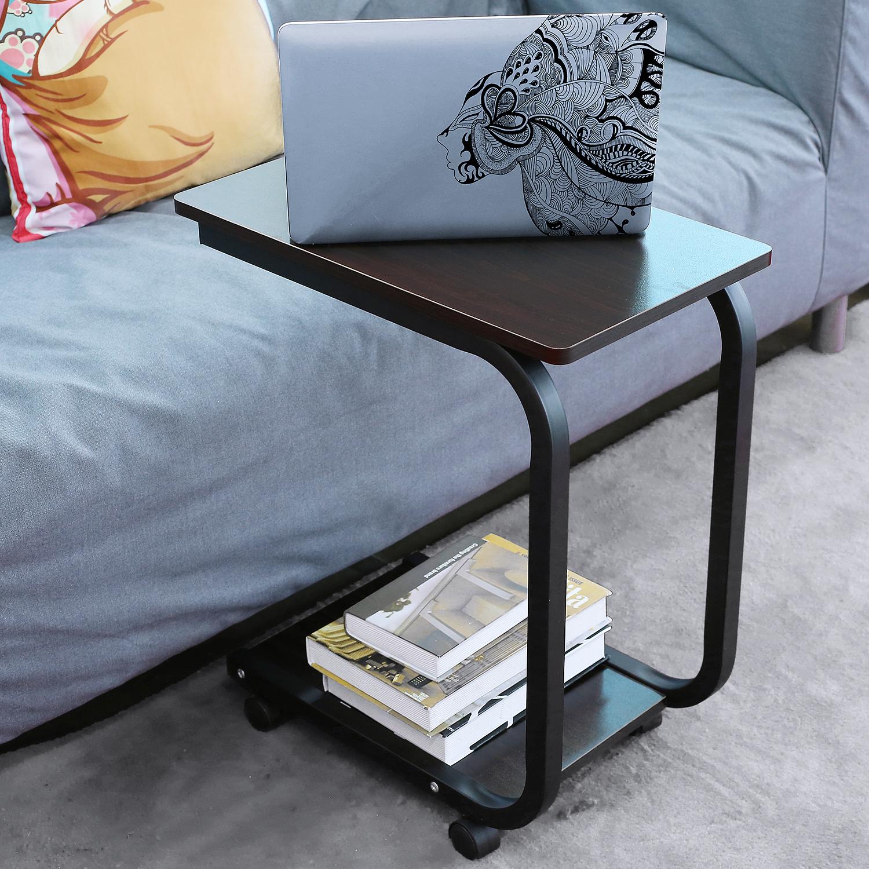 neu beistelltisch betttisch pflegetisch laptoptisch tisch couchtisch mit rollen ebay. Black Bedroom Furniture Sets. Home Design Ideas