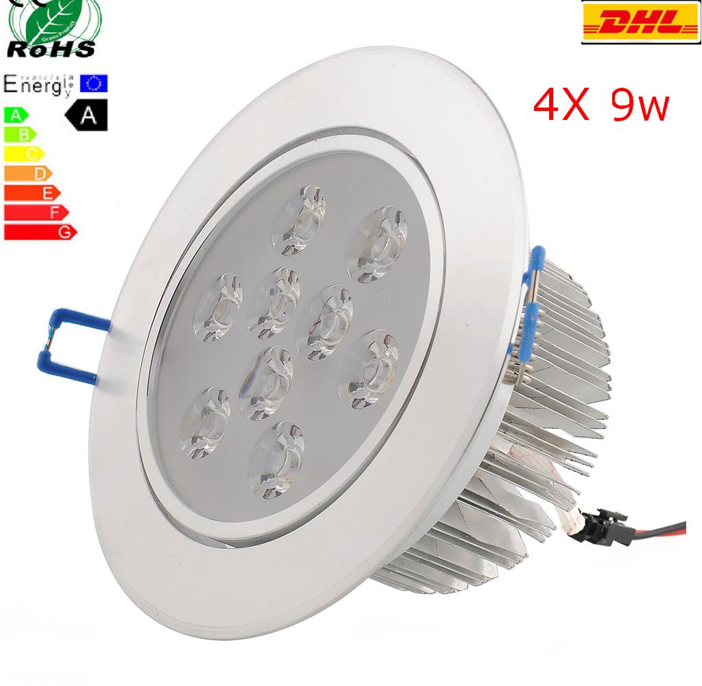Ganz-Guenstig-4X-9W-Led-Einbauleuchte-Set-Einbau-Strahler-Decken-lampe-Warmweiss