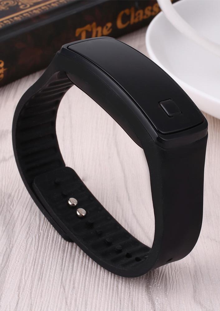 Reloj-de-Pulsera-F47F-Digital-LED-Silicona-Unisex-Automatico-Analogico-Regalo-RELOGIO-RELOJ