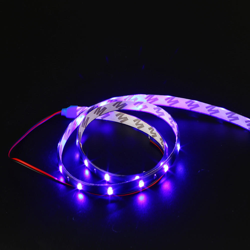 9DBF-60cm-Auto-Car-Vehicle-Interior-Exterior-Flexible-LED-Strip-Light-Bar-Decor