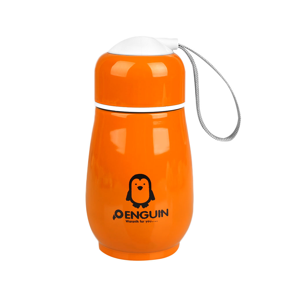 C71A-Pinguino-Design-in-Acciaio-Inox-Acqua-Tazza-Mug-Caffe-Te-Bevanda-THERMOS-bottl