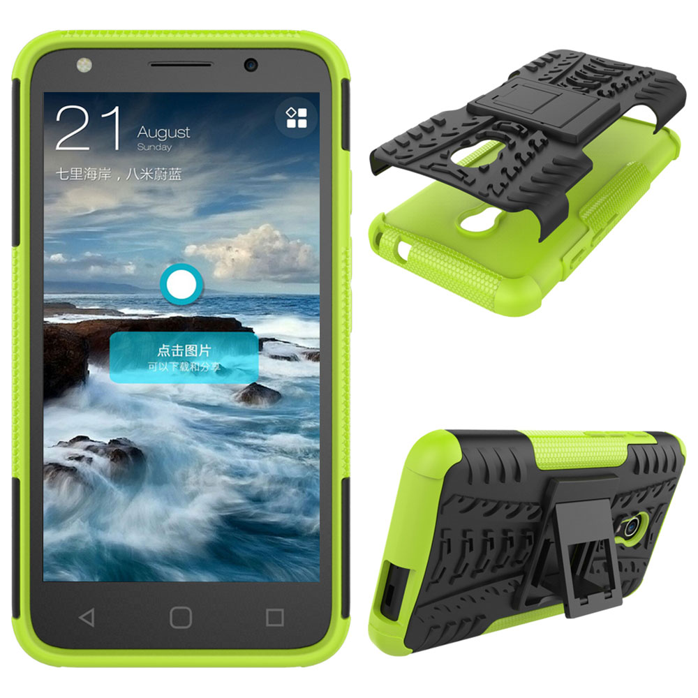 90B6-For-ALCATEL-PIXI-4-4G-5045X-Shockproof-Protection-Stand-Case-Cover-Skin